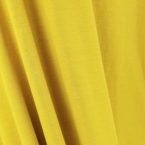 250 gsm Bamboo Jersey Knit:  Mustard