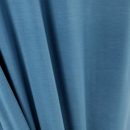 250 gsm Bamboo Jersey Knit:  Antique Blue