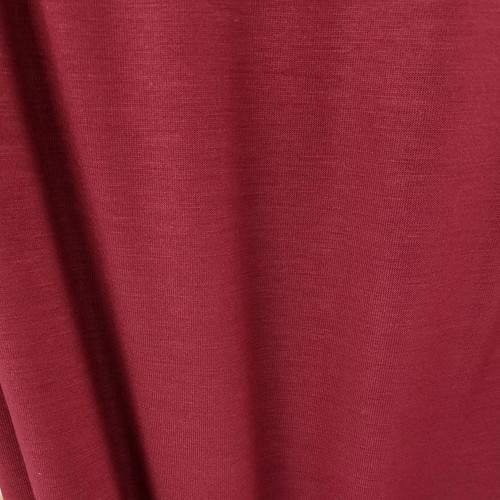 250 gsm Bamboo Jersey Knit:  Bordeaux