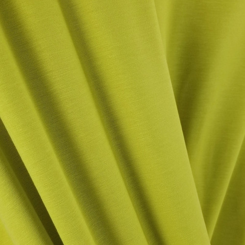 250 gsm Bamboo Jersey Knit:  Chartreuse