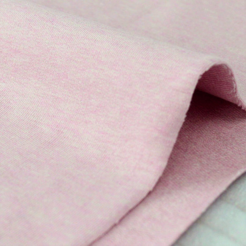 Maike:  Heathered French Terry, Rose