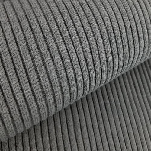 4 x 4 Heavy Ribbing: Grey
