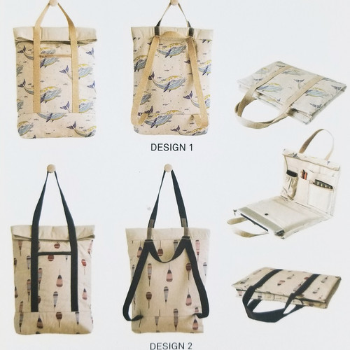 Backpack and Laptop Cover: Paper Sewing Pattern from Katia