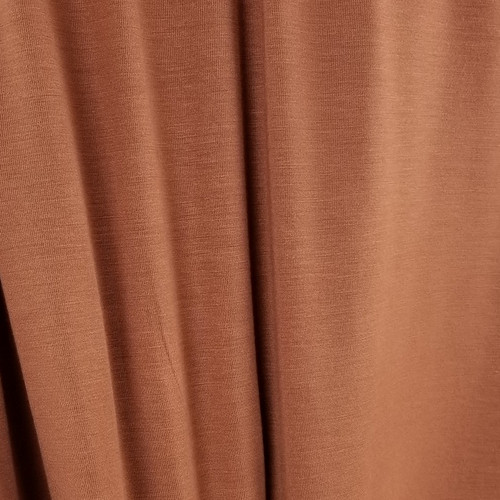 250 gsm Bamboo Jersey Knit:  Baked Clay