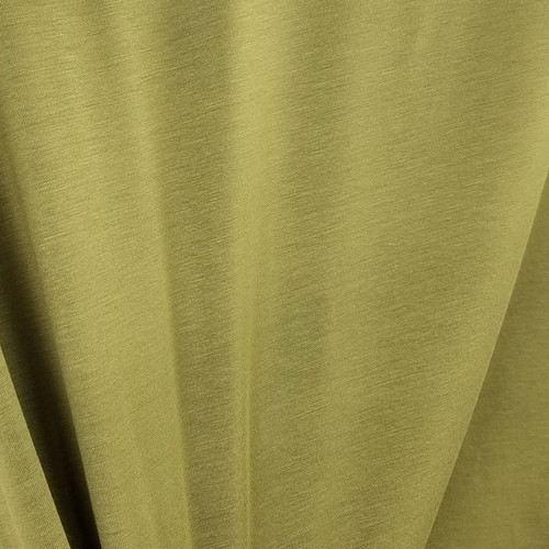 250 gsm Bamboo Jersey Knit:  Olive