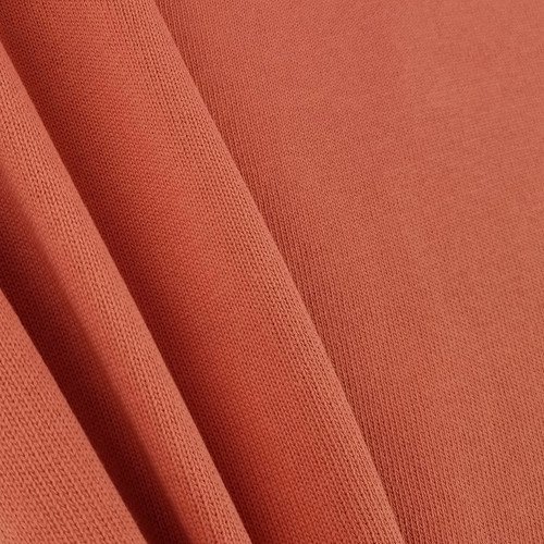 Knitted Cotton: Coral