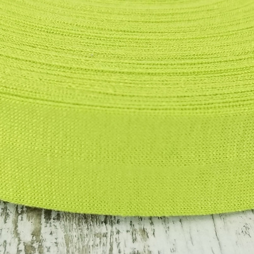 Viscose Knit Bias Binding: Chartreuse