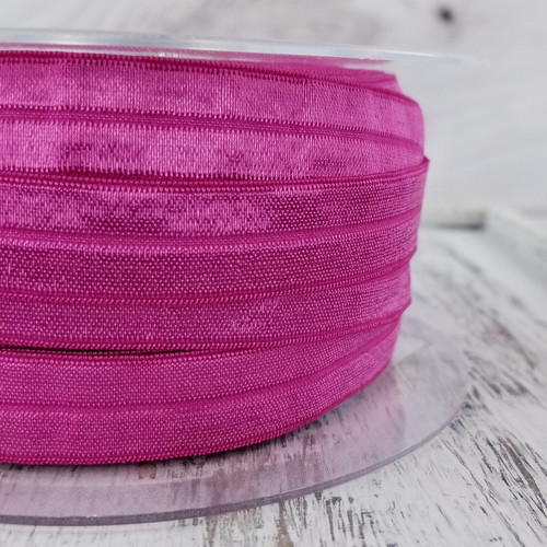 Fold Over Elastic: Cherry Pink