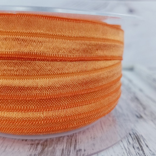 Fold Over Elastic: Orange