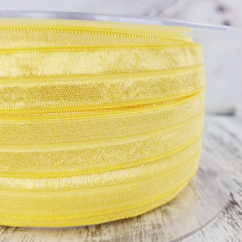 Fold Over Elastic: Yellow