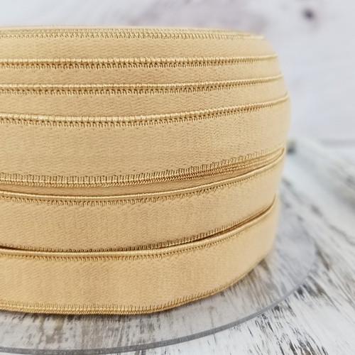 12 mm Flat Lingerie Elastic: Fawn