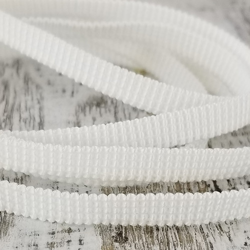 6 mm Latex Free Elastic:  White