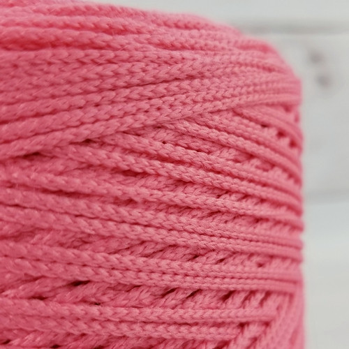 Elastic Cord For Face Masks:  Coral