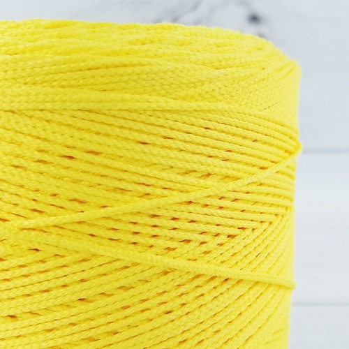 Elastic Cord For Face Masks:  Sunshine Yellow