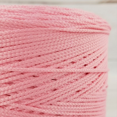 Elastic Cord For Face Masks:  Perfect Pink