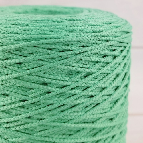 Elastic Cord For Face Masks:  Seafoam Green
