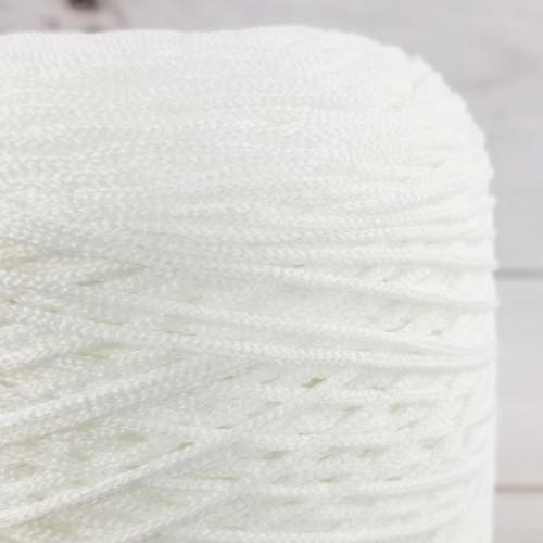Elastic Cord For Face Masks:  White