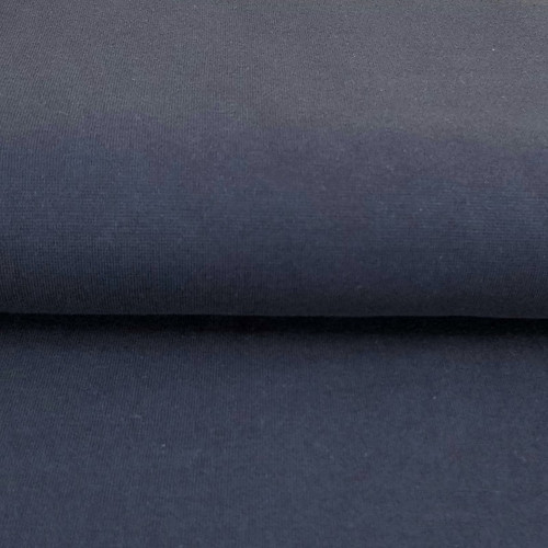 Heike: Solid Ribbing, Blue Navy