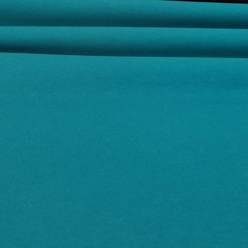 Maike:  Solid French Terry, Teal