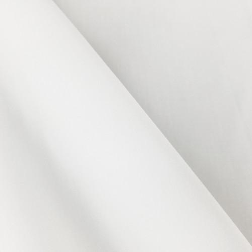 Anti-Bacterial & Water-Repellent Cotton Poplin: White