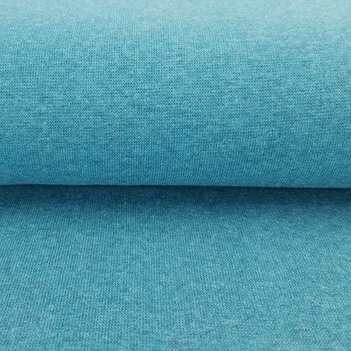 Heike: Heathered Ribbing, Ocean Blue