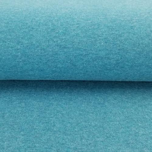 Heike: Heathered Ribbing, Ocean Blue