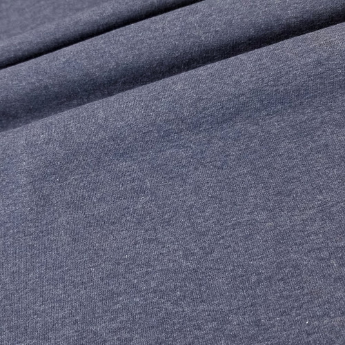 Maike:  Heathered French Terry, Sapphire