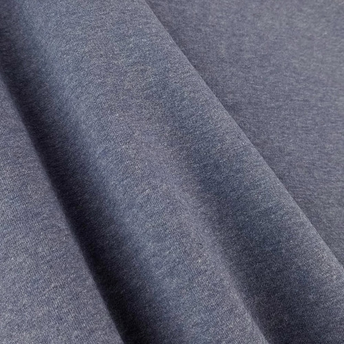 Eike: Brushed Heathered Sweatshirt, Sapphire