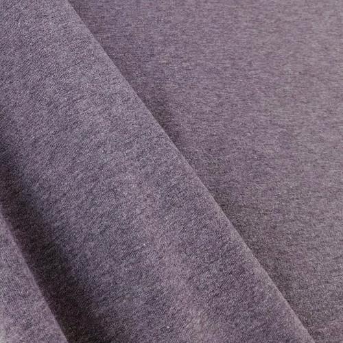 Eike: Brushed Heathered Sweatshirt, Aubergine