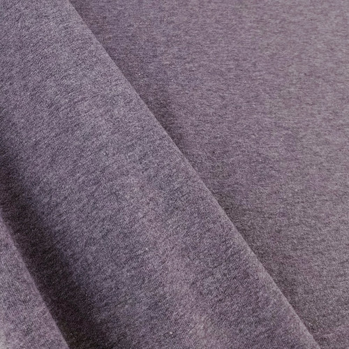 Eike: Brushed Heathered Sweatshirt, Aubergine