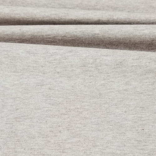 Maike:  Heathered French Terry, Light Brown