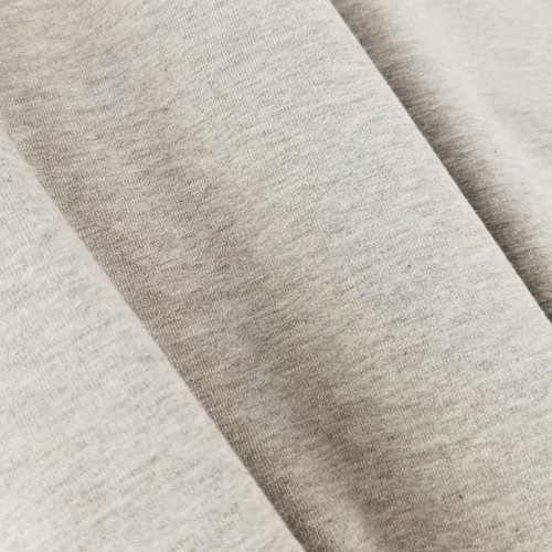 Eike: Brushed Heathered Sweatshirt, Light Brown