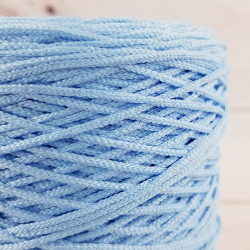 Elastic Cord For Face Masks:  Sky Blue