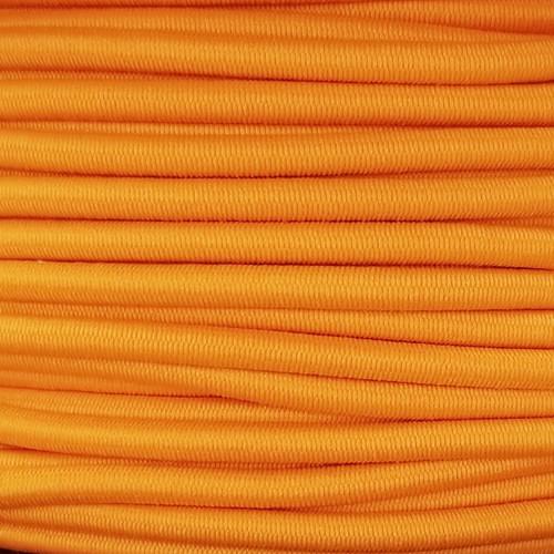 3 mm Elastic Cord: Orange