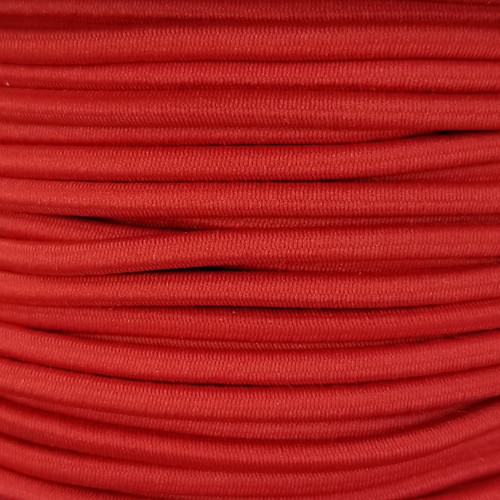 3 mm Elastic Cord: Red