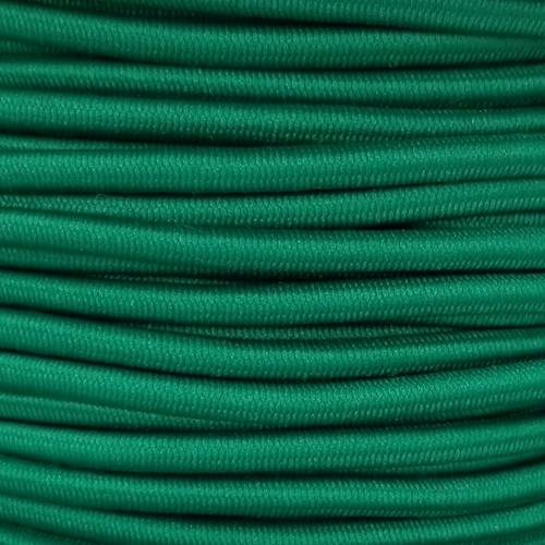 3 mm Elastic Cord: Christmas Green