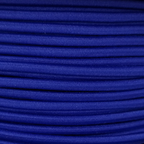 3 mm Elastic Cord: Royal Blue