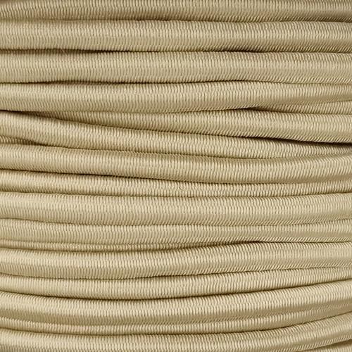 3 mm Elastic Cord: Sand
