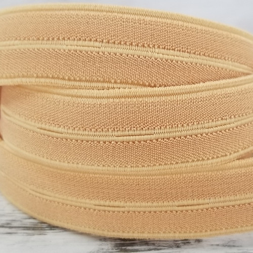 Nylon Buttonhole Elastic:  Beech Tree
