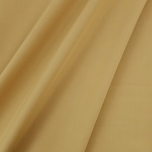 Solid Coloured Anti-Bacterial & Water-Repellent Cotton Poplin: Mustard