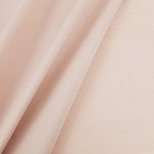 Solid Coloured Anti-Bacterial & Water-Repellent Cotton Poplin: Blush