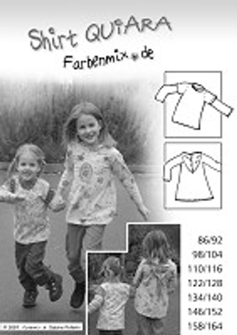Make something great with the fabric from our online fabric store! QUIARA is a great shirt pattern for only $12