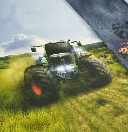 Tractor:  Digital Panel French Terry, Stenzo  (approximately 75 cm)