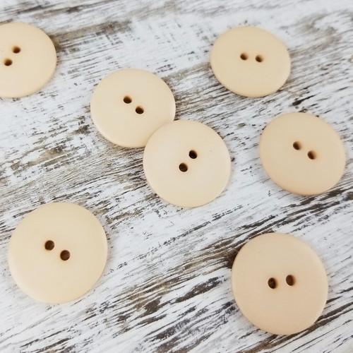 Simple Circle Button:  Birch
