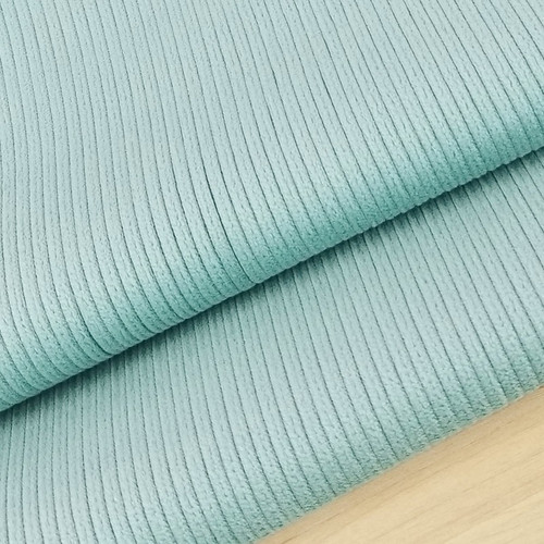 Stretch Wide Wale Corduroy:  Seafoam