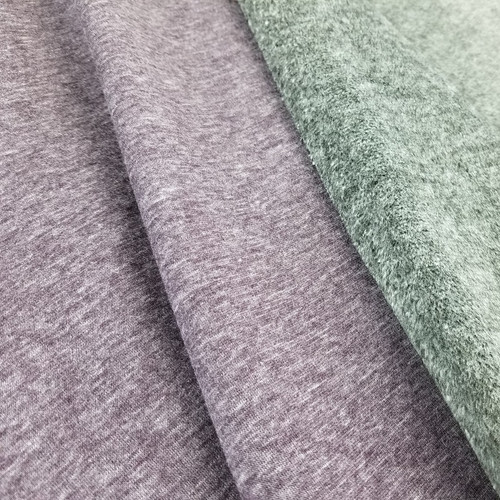 Alpine Fleece:  Heathered Aubergine