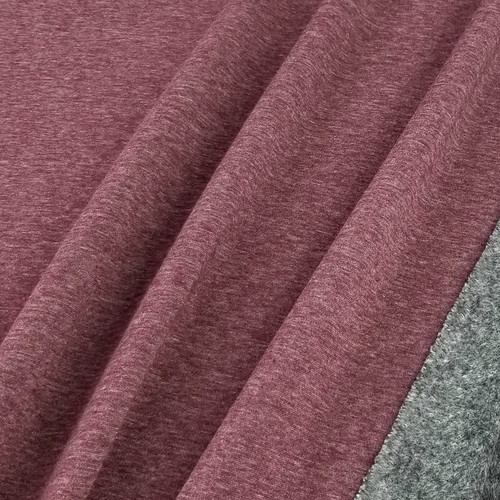 Alpine Fleece:  Heathered Bordeaux