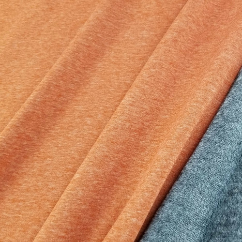 Alpine Fleece:  Heathered Terracotta