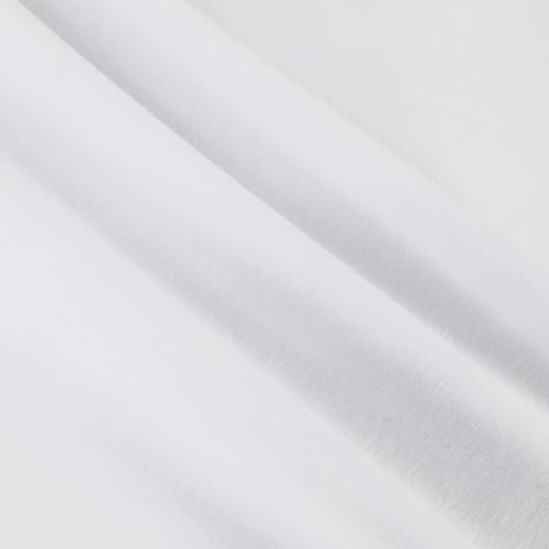 Solid Basics Jersey Knit:  Snow