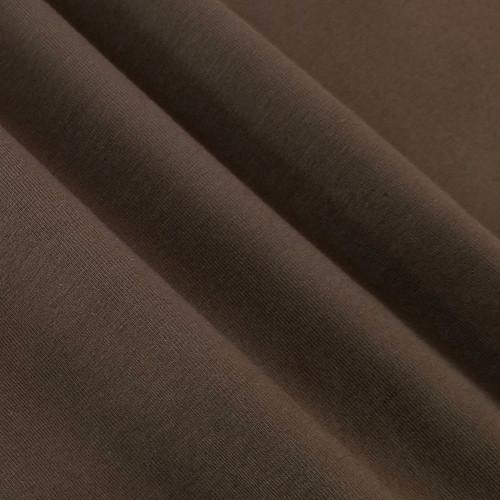 Solid Basics Jersey Knit:  Umber